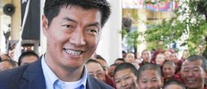 Lobsang Sangay, tras la elección