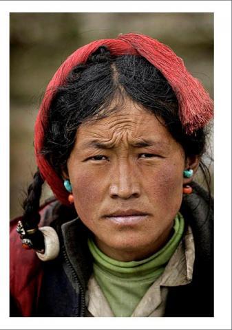 Exposició 'Tibet, l'èxode' amb fotos de Ángel López