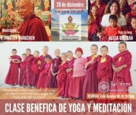 Classe benèfica de Lu Jong en benefici del monestir Chuchik Jall Nunnery al Ladakh (Índia)