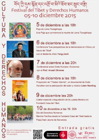 Festival del Tibet & Derechos Humanos