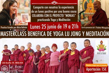 Lu Jong i meditació amb  Alicia Beltrán