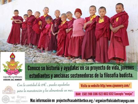 Esdeveniment solidari per ajudar les monges de Chuchik Jall Khachod Dubling (Ladakh, Índia)