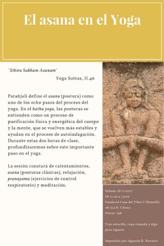 El asana en el Yoga