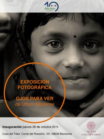 Exposició fotográfica 'Ulls per veure' de Uttam Módenes