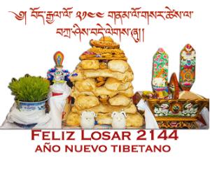 LOSAR - Año Nuevo Tibetano 2144 (Pájaro de fuego)
