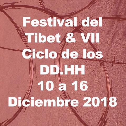 Festival del Tibet y VII Ciclo de los Derechos Humanos
