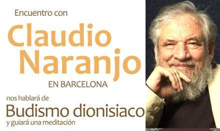 Trobada amb Claudio Naranjo a Barcelona