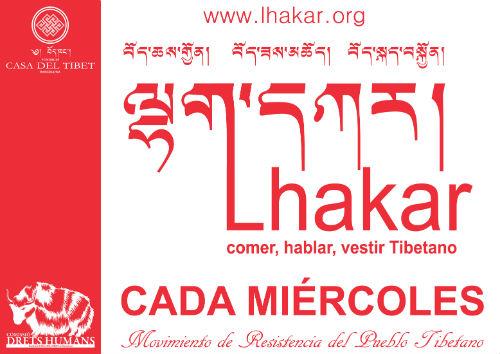 Lakhar o Miércoles Blanco - acción en la Plaça Universitat de Barcelona de 19h a 20h