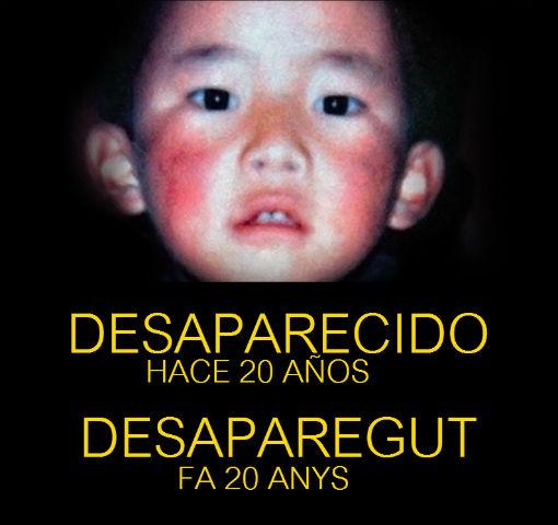 Marxa pacífica per l'alliberament del Panchen Lama desaparegut fa 20 anys