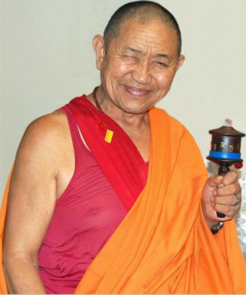 Programa especial con Garchen Rimpoché en la Fundación Casa del Tibet