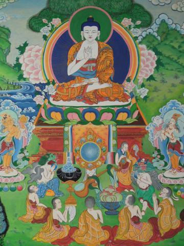 Puja especial de CHÖE KHOR DÜCHEN (dia de la Primera Enseñanza del Buda sobre las Cuatro Nobles Verdades)