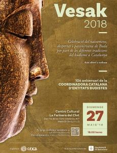 Celebración del Vesak 2018