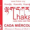 HOY: Lakhar o Miércoles Blanco - acción en la Plaça Universitat de Barcelona de 19h a 20h