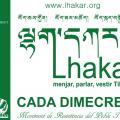 Lakhar o Dimecres Blanc - acció a la Plaça Universitat de Barcelona de 19h a 20h