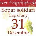 Sopar solidari de Cap d'Any en benefici de l'assentament de refugiats tibetans de Sonada (Darjeeling)