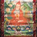 Exposició de thangkes de panditas ofertes per Sa Santedat el Dalai Lama