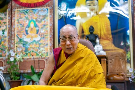 Sa Santedat el Dalai Lama impartirà ensenyaments en directe