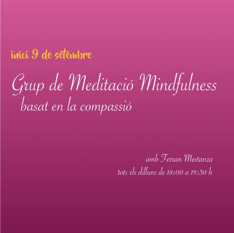 Meditació Mindfulness basat en la compassió