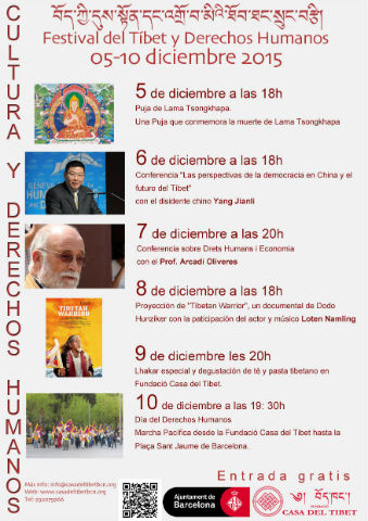 Festival del Tibet & Drets Humans
