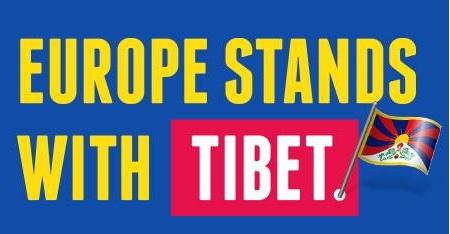 MARCHA PACÍFICA a Barcelona i a París pel 56é aniversari de l'ocupació del Tibet