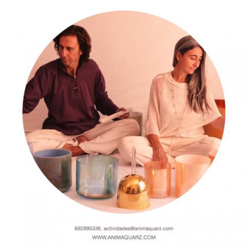 Conciertos de Meditación con cuencos de cuarzo  y minerales, Grup Shirai