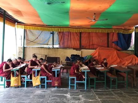 Jornada solidària per al monestir de Samteling de Nepal