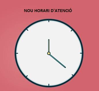 Nou horari