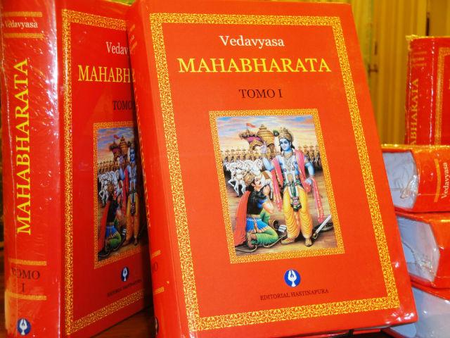 Presentación del libro: El MAHABAHARATA (Primera edición completa en español)