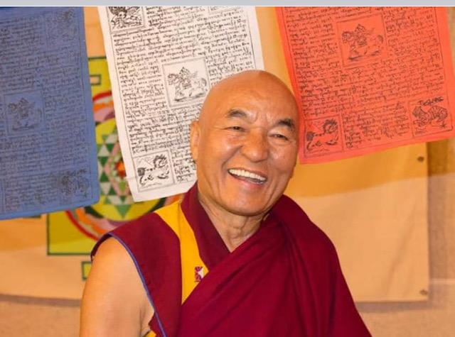 Curs amb Thubten Wangchen