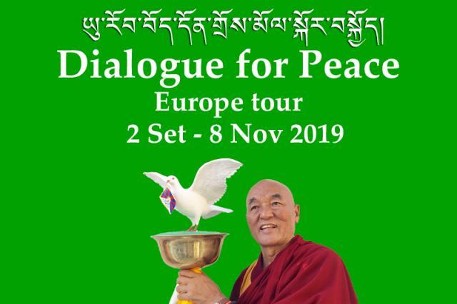 Tour 'Diálogo para la Paz, Tibet-China'