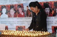 Vigilia por cuatro tibetanos que se inmolaron en protesta contra China (AFP/Archivo)