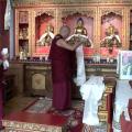 Mini gompa en la Fundació Casa del Tibet