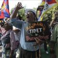 Manifestación de tibetanos