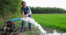 Estudiante de Doctorado Laura Erban, lider y autora del estudio de arsénico en agua terrestre en Vietnam, como el ejemplo del Delta del río Mekong. (Cortesía Laura Erban/Stanford)