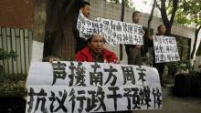 Els periodistes en vaga per la censura, tornen a la feina. REUTERS