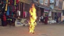 Un monjo tibetà s'ha immolat aquest dimecres a Katmandú